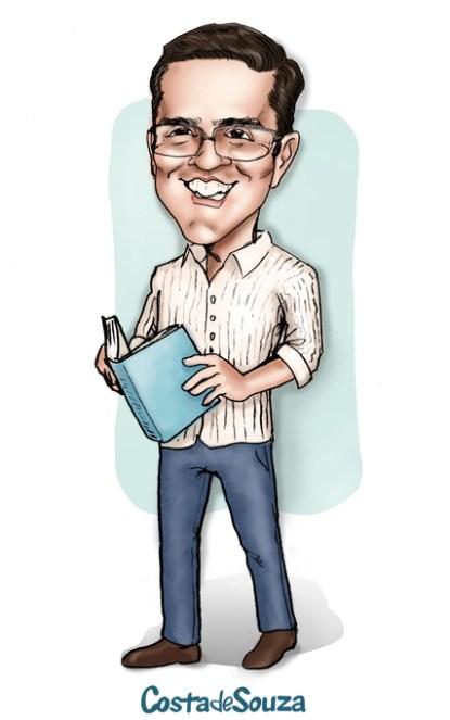 caricatura presente professor