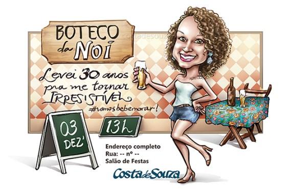 caricatura-aniversario-boteco-30-anos