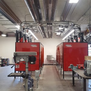 Kennedy High School Welding Lab
