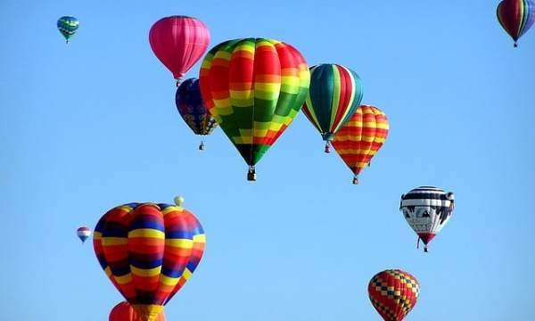 cOST OF HOT AIR BALOON