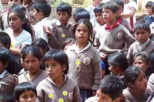 Lower classes school pupils
