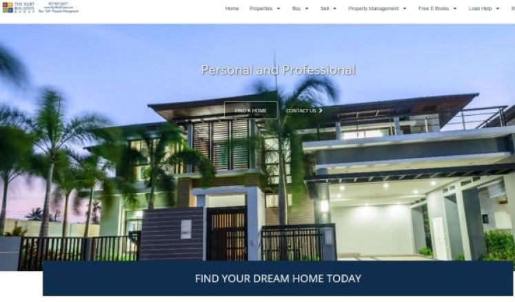 KurtRealEstate website