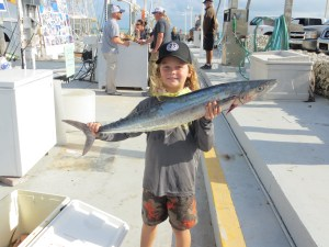 King fishing in Islamorada