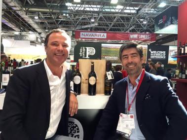 Bernardo Cabral, Winemaker, and José Gomes Aires, Director