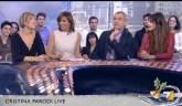 """Costanza ospite a """"Cristina Parodi live""""-14 dicembre 2012"""