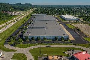 Dream Industrial REIT is leasing space to an Amazon subsidiary in Louisville, Kentucky. (CoStar)