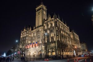 A congressional committee said documents show the Trump International Hotel in Washington, D.C., lost money while Donald Trump was president. (Getty Images)