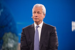 Jamie Dimon, chairman and CEO of JPMorgan Chase, reported a growing pipeline for new commercial real estate lending. (Getty Images)