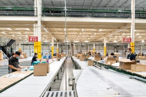Gap plans to increase its e-commerce efforts by adding a distribution facility in East Texas. (Gap)
