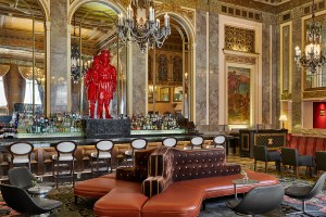 Pebblebrook Hotel Trust is under contract to sell the 416-room Kimpton Sir Francis Drake Hotel in San Francisco's Union Square neighborhood. (Kimpton Sir Francis Drake)
