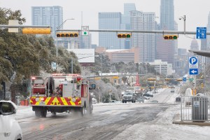 Austin, Texas, was among the hardest hit cities with the winter storm last week. (Getty Images)