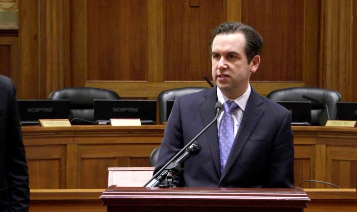 "Jersey City Mayor Steven Fulop told reporters that new controls on short-term rentals are ""not out of line with other cities."" (City of Jersey City)"