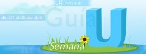 Semana U 2014 logo guia