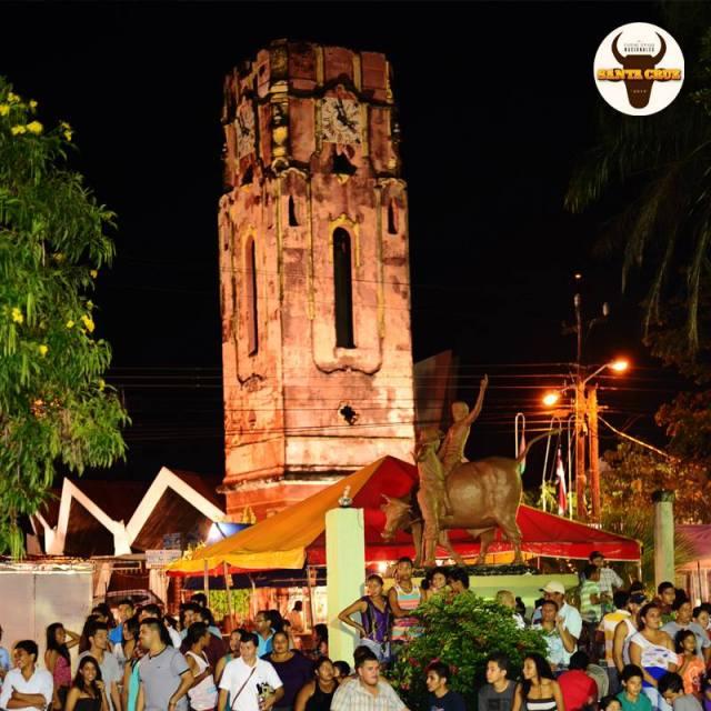 fiestas santas cruz 2014