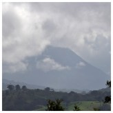Arenal Volcano Shrouded in Mist