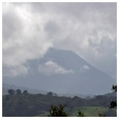 Arenal Volcano Shrouded in Mist