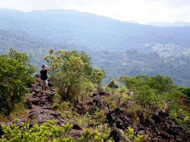 Ricky - Climbing the Arenal Volcano National Park