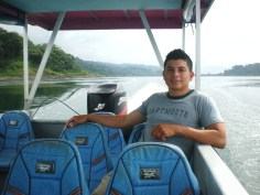 Ricky - Enjoying Lake Arenal