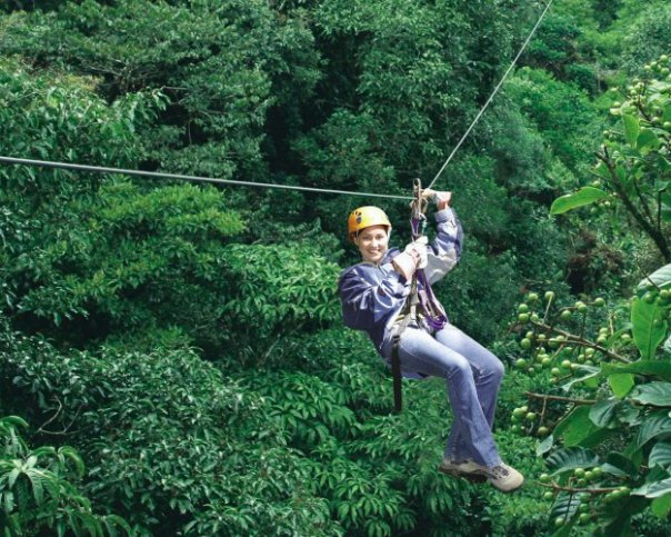 best zipline Costa Rica