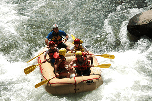 Sarapiqui River Rafting Tour
