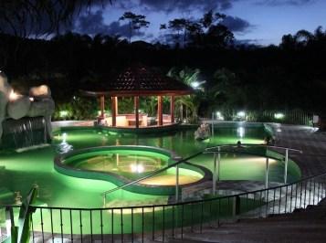 Arenal hot springs