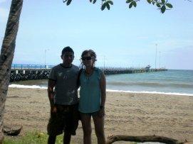 Ricky and Nikki - Playa Puntarenas