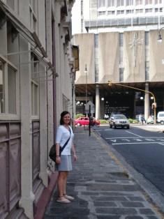 Nikki - strolling around downtown San Jose
