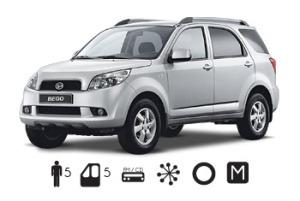 Daihatsu Bego 4X4 Manual