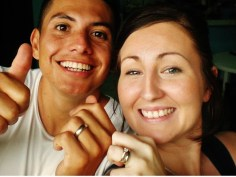 Ricky and Nikki; engagement celebrations
