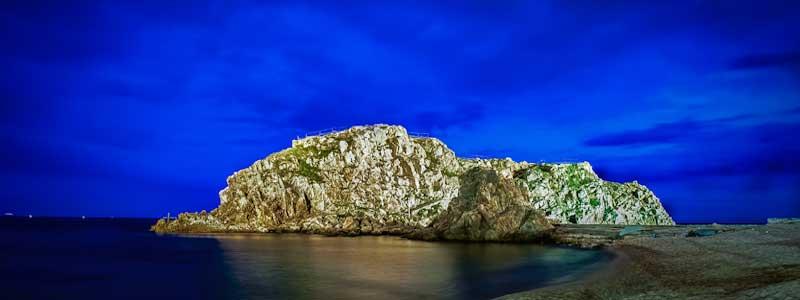 Sa Palomera Rock, Blanes, Spain