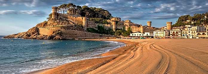 Playas de Tossa de Mar