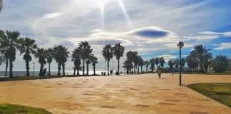 playa flamenca promenada
