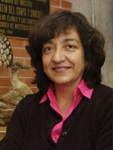 doctora Patricia Escalante Pliego, investigadora titular de la UNAM del Instituto de Biología UNAM