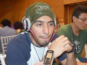 Iván Vivanco Morales, estudiante en ingeniería en Mecatrónica, de Xalapa.