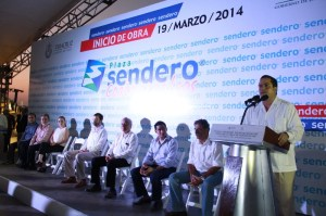 Acudieron la Síndica e integrantes del Cabildo, así como líderes empresariales de la zona sur