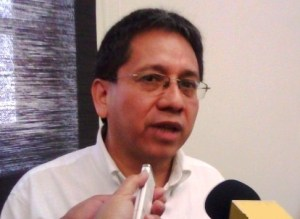 El Subcoordinador de Estudios Atmosféricos de la Secretaría de Protección Civil (PC), José Llanos Arias