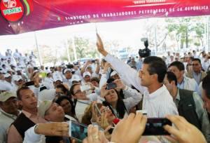 El presidente de México que Pemex y su renta petrolera seguirá siendo de los mexicanos.