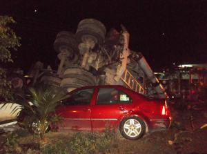 Pérdida total en daños materiales, pero no hubo pérdidas de vidas humanas