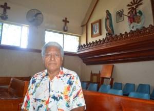 Todos los domingos, el tío de Ligia Delfín va a la Iglesia a rezar por la seguridad de su sobrina y de la paz en Venezuela.