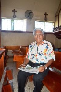Tomás Blanco Sosa, músico compositor, letrista, escritor, es tío de Ligia María y vive en Coatzacoalcos.