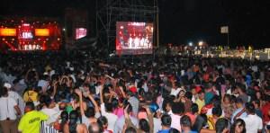 Más de 95 mil personas disfrutaron del espectáculo, único en Coatzacoalcos y su primera vez en la ciudad.