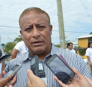 Felipe de Jesús Rodríguez, director de Protección Civil Coatzacoalcos.