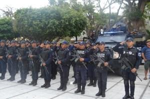 Cerco de vigilancia para colonias con alto índice delictivo y zonas comerciales con operativo Blindaje Coatzacoalcos.