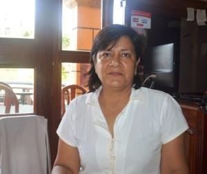 Martha Díaz Sibaja, Directora de Turismo en Acayucan.