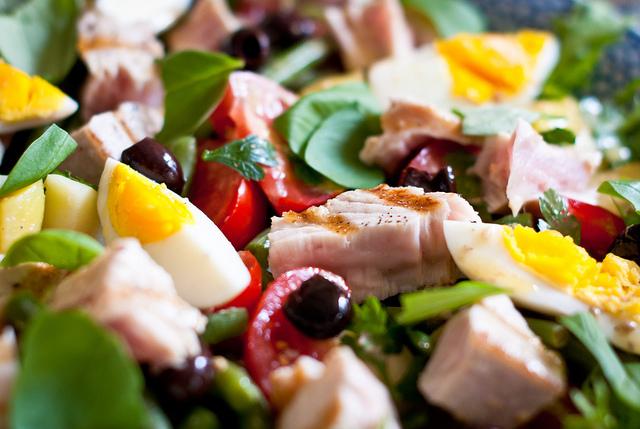 Salade Niçoise, cocina nizarda