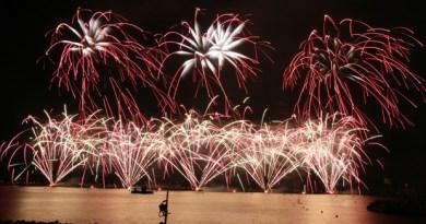 Fuegos artificiales Cannes