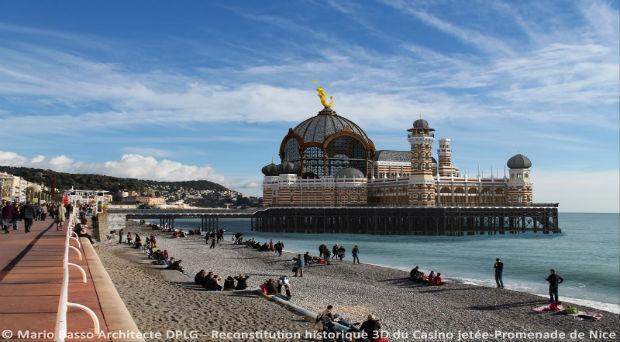 El Casino de Niza renace en 3D
