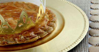 Tarta de los Reyes el equivalente francés del Roscón