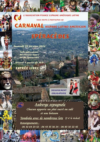 Carnaval Hispanoamericano AFEAL