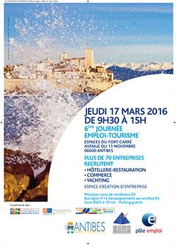 Jornada empleo Turismo Antibes